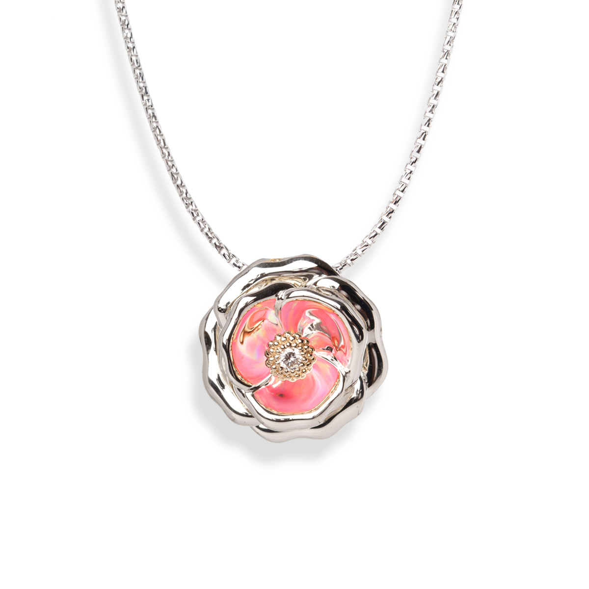 Galatea - Rose_Gloria_COL_Pendant.jpg - brand name designer jewelry in Jensen Beach, Florida