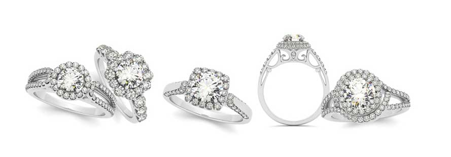 Design your engagement ring at Morrison Smith Jewelers in Charlotte
